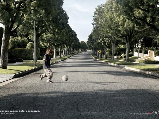 Audi Print Ad -  Child