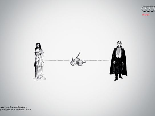 Audi Print Ad -  Dracula