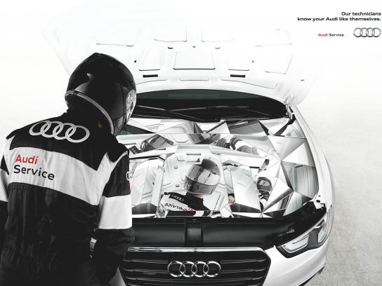 Audi Print Ad -  Mirror
