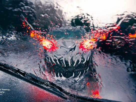 Audi Print Ad - Rain - Monsters, 1