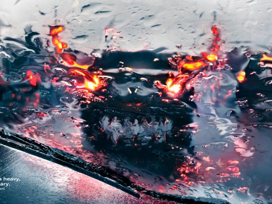 Audi Print Ad - Rain - Monsters, 2