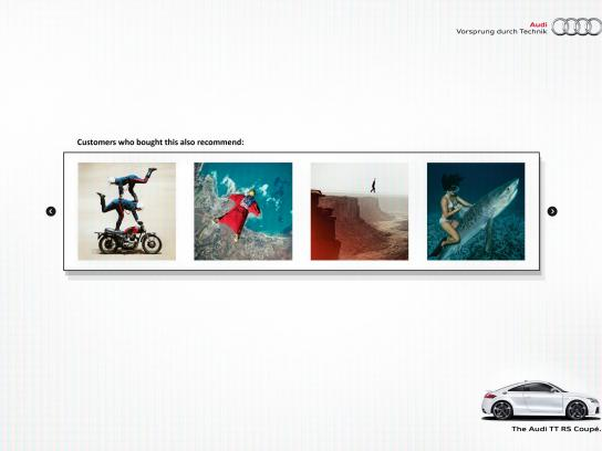 Audi Print Ad -  Recommendation, 1