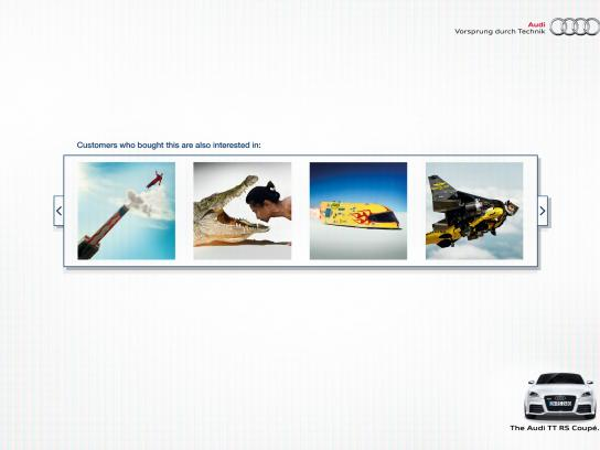 Audi Print Ad -  Recommendation, 2
