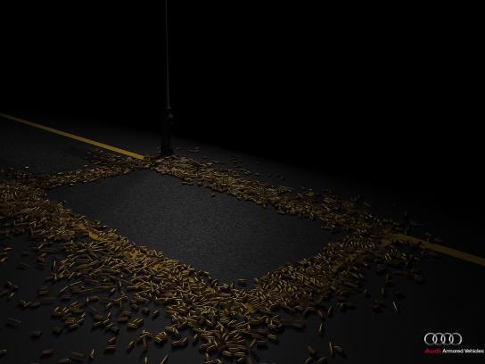 Audi Print Ad - Bulletproof