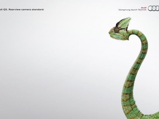 Audi Print Ad -  Chameleon