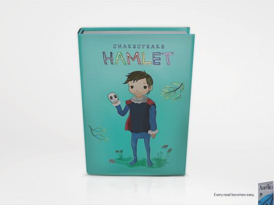 Aurelio Dictionary Print Ad -  Hamlet