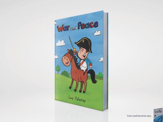 Aurelio Dictionary Print Ad -  War and Peace
