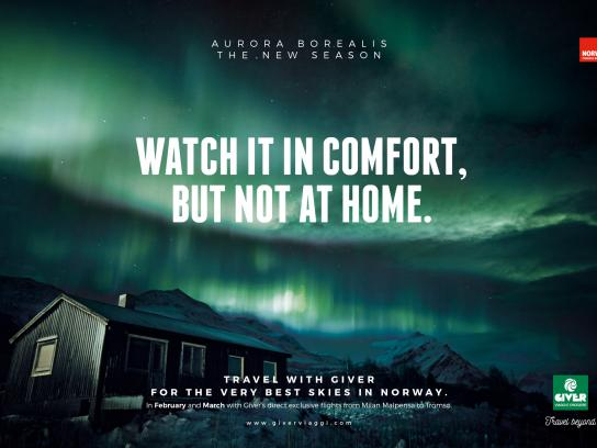 Giver Viaggi Print Ad - Aurora Home