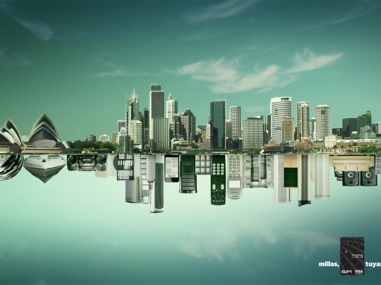 Visa Print Ad -  Sydney