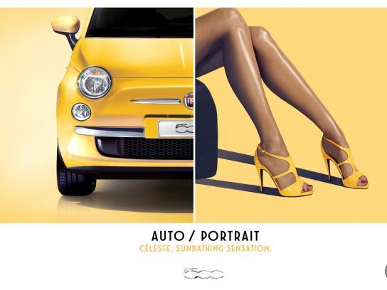 Fiat Print Ad -  Celeste
