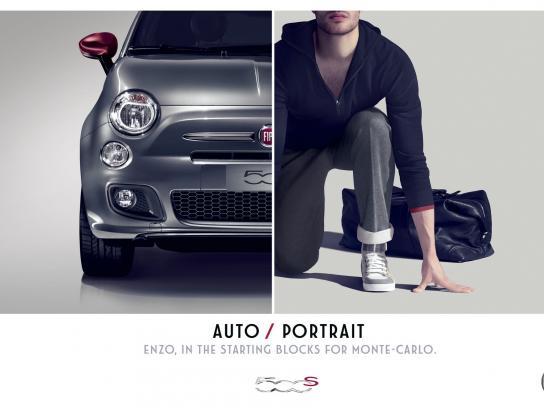 Fiat Print Ad -  Enzo