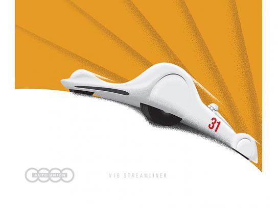 Audi Print Ad - Audi Heritage Poster Series, 4