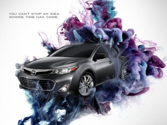 Toyota Print Ad -  Idea, 1