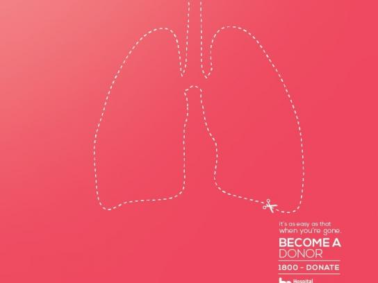 Hospital Metropolitano Print Ad -  Lungs