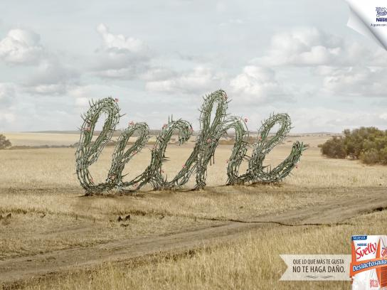 Svelty Print Ad -  Thorns