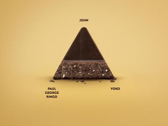 Toblerone Outdoor Ad - Love Triangles, John