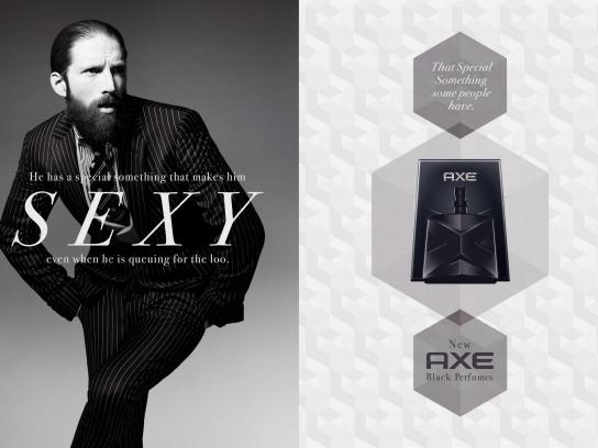 Axe Print Ad -  Sexy
