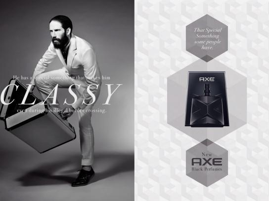 Axe Print Ad -  Classy