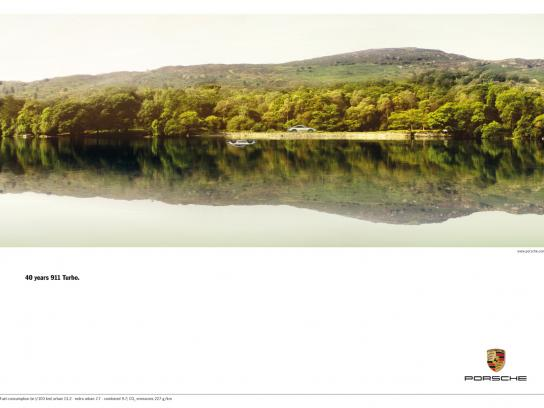 Porsche Print Ad -  Acceleration, 1