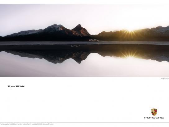 Porsche Print Ad -  Acceleration, 2