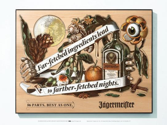 Jagermeister Print Ad -  Far-fetched