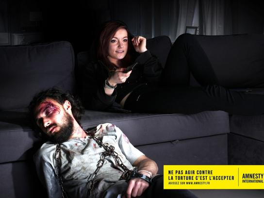 Amnesty International Print Ad -  Home