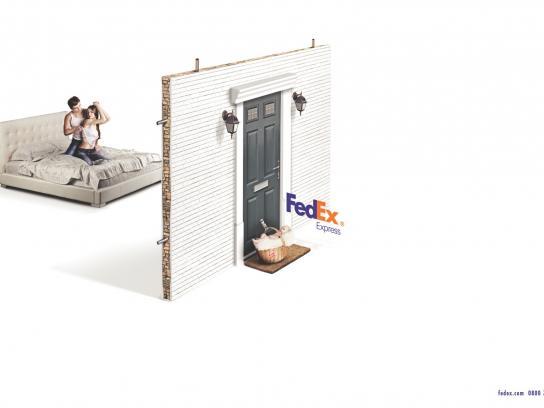 FedEx Print Ad -  Baby