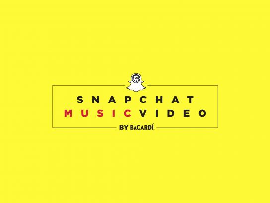 Bacardi Digital Ad - Snapchat Music Video