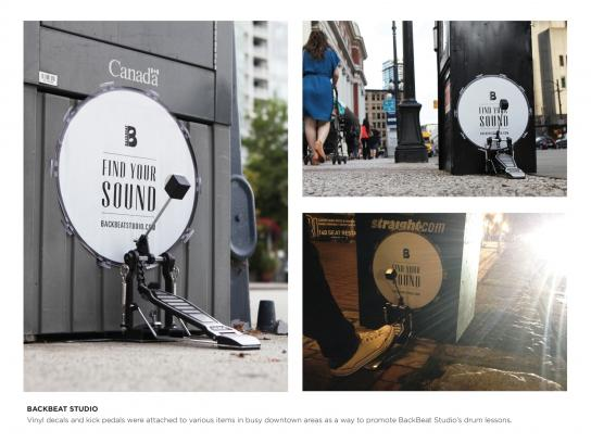 Backbeat Studio Ambient Ad -  Guerilla kick