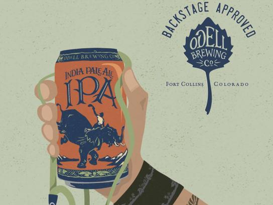 Odell Brewing Co Print Ad - Odell IPA Day - Backstage