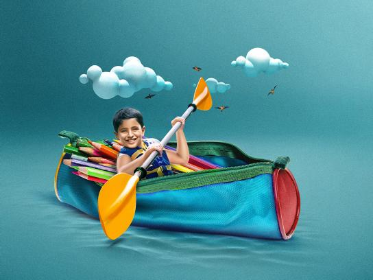 Cairo Festival City Mall Print Ad - Back To School, 2