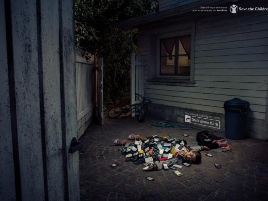 Save the Children Print Ad - Backyard