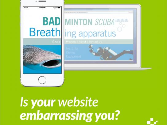 Nettl Digital Ad -  Bad Breath Shop