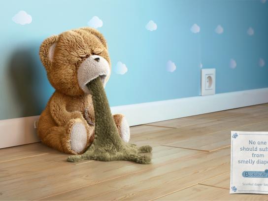 Badabulle Outdoor Ad -  Teddy