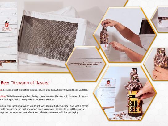 Klein Bier Direct Ad -  Bad Bee