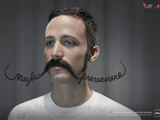 LILT Print Ad - Movember