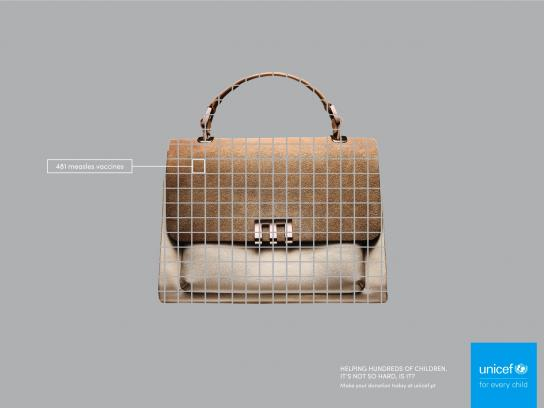 Unicef Print Ad - Bag
