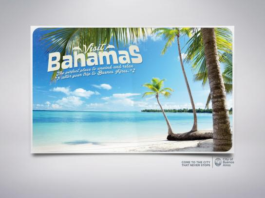 City of Buenos Aires Outdoor Ad -  Bahamas