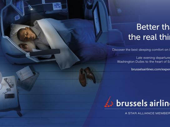 Brussels Airlines Print Ad -  Washington