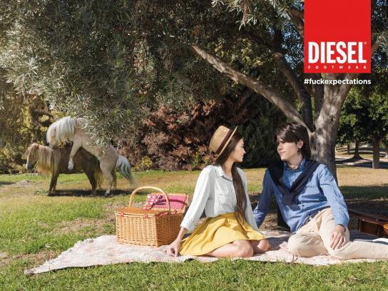Diesel Print Ad -  Photobomb, 1