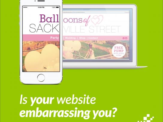 Nettl Digital Ad -  Ball Sack Party