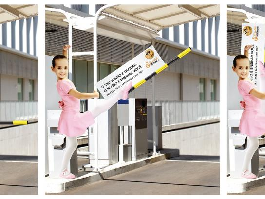 Eliane Indiani Fitness Center Ambient Ad -  Ballet dancer