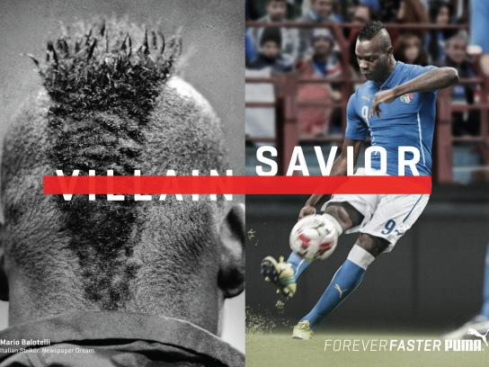 Puma Print Ad -  Forever Faster - Balotelli