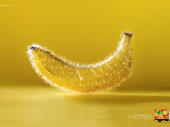 Pão de Açúcar Print Ad -  Banana