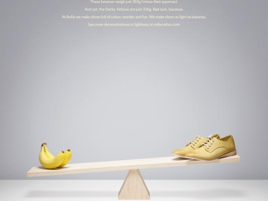Rollie Print Ad -  Bananas vs Derby Blue