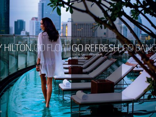 Hilton Print Ad -  Bangkok, 2