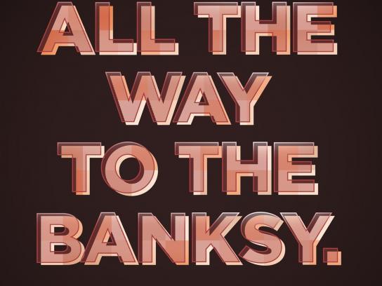 Artinvestor Print Ad -  Banksy