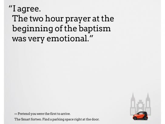 Smart Print Ad - Baptism