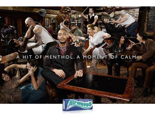 Airwaves Print Ad -  Bar