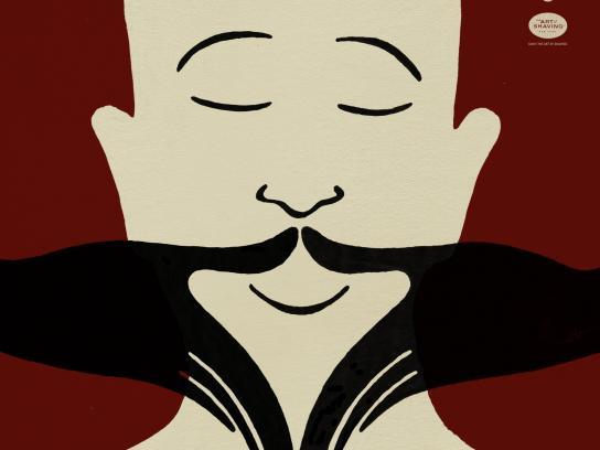 The Art of Shaving Print Ad -  Barber Spa, 2